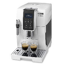 De'Longhi Dinamica Bean-to-Cup Coffee Machine White ECAM 350.35.W