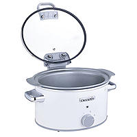 Crock-Pot DuraCeramic 4.5L Hinged Lid Slow Cooker CSC038
