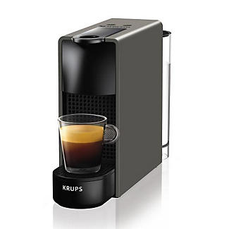 krups nespresso essenza mini coffee machine grey xn110b40 lakeland. Black Bedroom Furniture Sets. Home Design Ideas