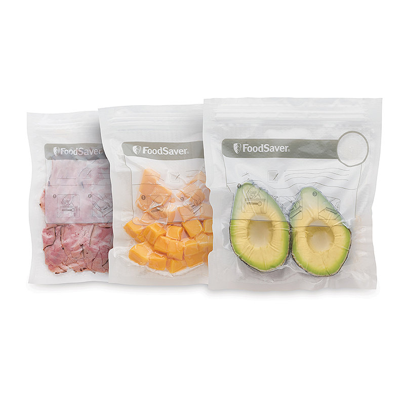 FoodSaver Small Fresh Zipper Bags 26 x 950ml