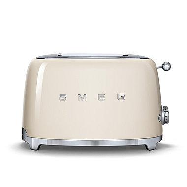 Smeg 50s Retro 2-Slice Toaster Cream TSF01CRUK