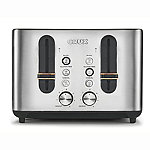 CRUX 4-Slice Toaster Stainless Steel CRUX007