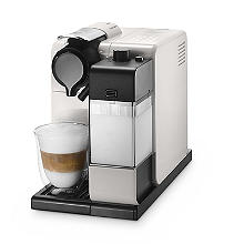 De'Longhi Nespresso Lattissima Touch Coffee Pod Machine White EN550.W