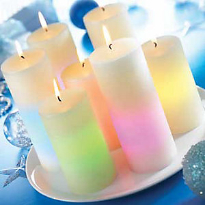 Medium Colour-Changing Lounge Light, Replacement Candle