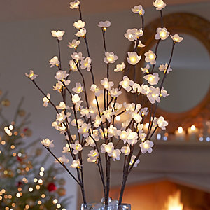 White Blossom Lights