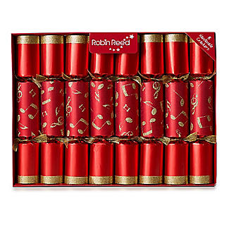 Cracker Symphony Musical Christmas Crackers - Pack of 8 alt image 1