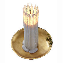 Ice Crystal Candle