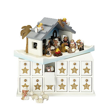 Countdown to Christmas: Bethlehem Stable Advent Calendar