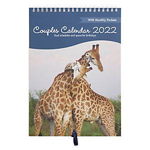 Couples' Calendar 2017