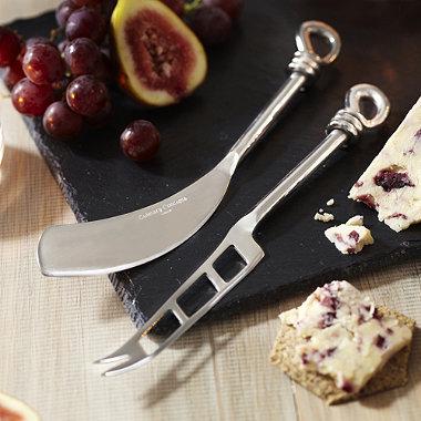 Polished Knot Cheese Knife Set