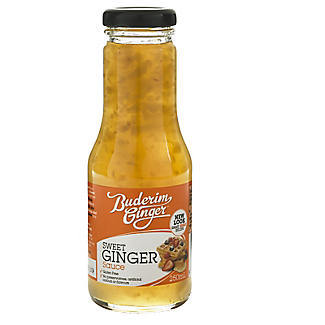 Buderim Sweet Ginger Dessert Sauce 250ml