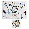 12 Days of Christmas Placemats & Coasters