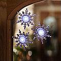 3 LED Snowflake Lights
