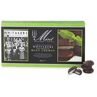 Whitakers Dark Chocolate Mint Cremes 150g