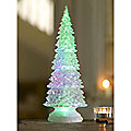 LED Frosted Christmas Tree