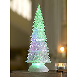 Large LED Frosted Christmas Tree