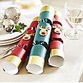 6 Racing Reindeer Christmas Crackers