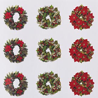 48 Christmas Envelope Seals