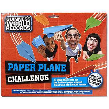 Guinness World Record Paper Plane Set