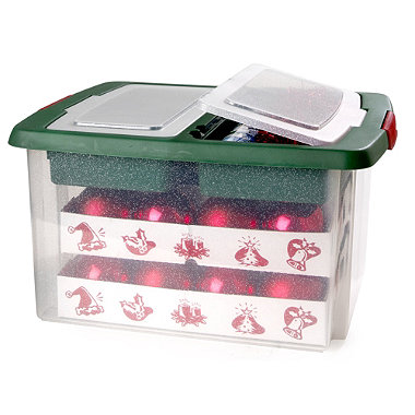 Lakeland the home of creative kitchenware for Xmas decoration storage boxes