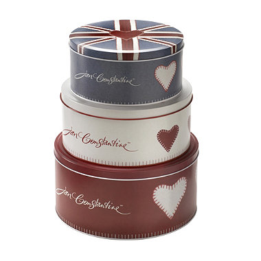 jan constantine cake tins in cake storage at lakeland. Black Bedroom Furniture Sets. Home Design Ideas