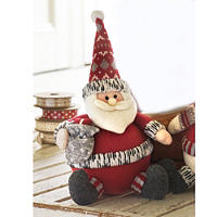 Roly-Poly Santa Decoration