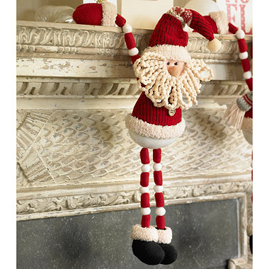 Santa 'Hang Around' Decoration