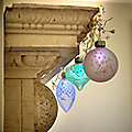 3 Frosted LED Baubles