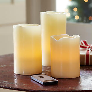 3 Remote Control LED Candles