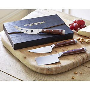 Paxton & Whitfield 3-Piece Cheese Knife Set