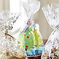 20 Christmas Tree Festive Treat Bags