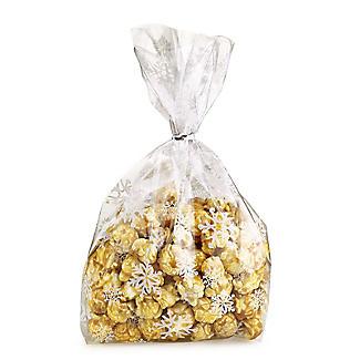 20 Snowflake Festive Treat Bags