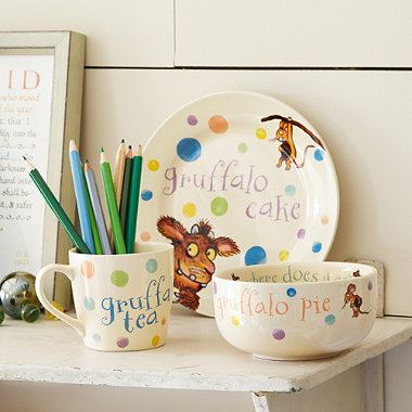 Gruffalo's Child Dinner Set