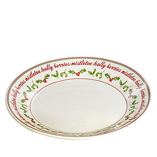 Christmas Berries Plate