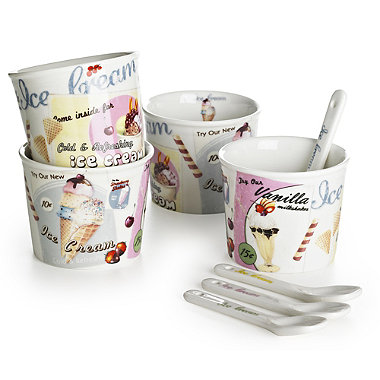 Ice-Cream Cup Set