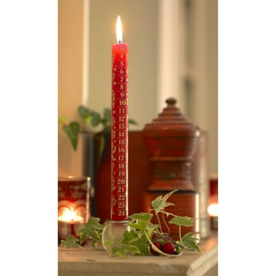 Advent Candle In Advent At Lakeland
