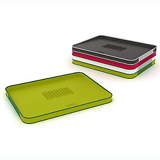 Joseph Joseph Cut and Carve Plus Multi-Function Chopping Board Black alt image 9