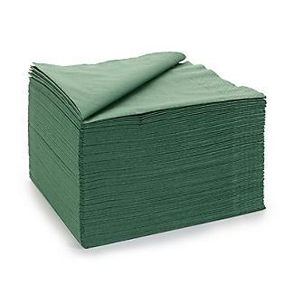 100 Green Napkins