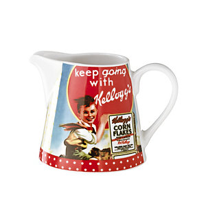 Vintage Kellogg's Milk Jug