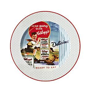 Vintage Kellogg's Breakfast Plate