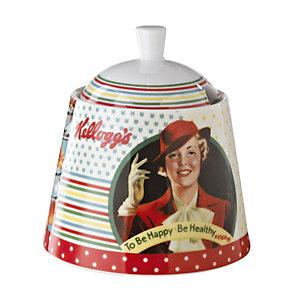 Vintage Kellogg's Sugar Bowl