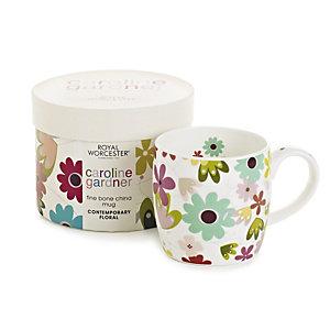 Caroline Gardner Contemporary Floral Mug