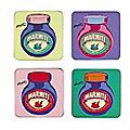 4 Marmite Coasters