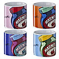 4 Marmite Egg Cups