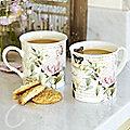 2 Rose Mugs