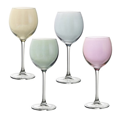 LSA Polka Wine Glasses