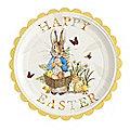 12 Peter Rabbit Paper Plates