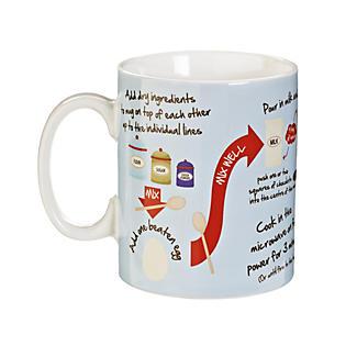 Cake In A Mug - Gift Mug With Recipe & Instructions alt image 3