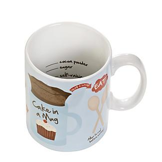 Cake In A Mug - Gift Mug With Recipe & Instructions alt image 4