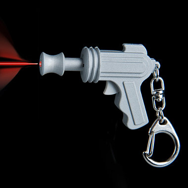 LED Space Gun Keyring